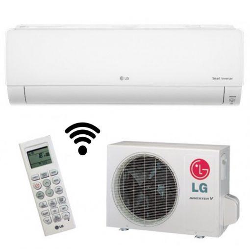 LG DELUXE DC012RQ split klíma szett